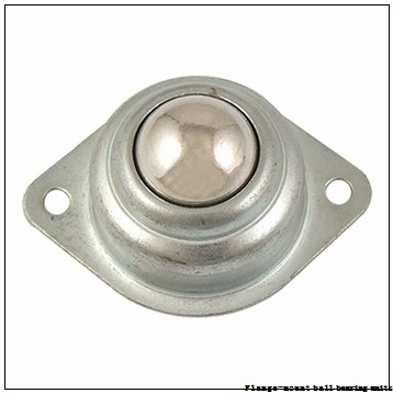 1.2500 in x 3.6250 in x 4.7500 in  Dodge F4BSC104 Flange-Mount Ball Bearing Units