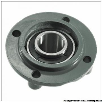 2.5000 in x 5.8750 in x 7.3800 in  Dodge F4BSCM208 Flange-Mount Ball Bearing Units