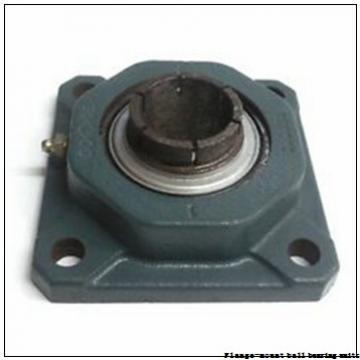 1.0000 in x 3.0000 in x 3.7500 in  Dodge LFSC100NL Flange-Mount Ball Bearing Units