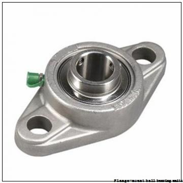 30 mm x 4.5938 in x 79.5 mm  Dodge F2BSC30M Flange-Mount Ball Bearing Units