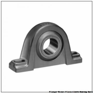 Climax Metal Products F2SS-UH-075 Flange-Mount Plain Sleeve Bearing Units