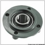 1.4375 in x 3.6250 in x 4.7500 in  Dodge F4BVSC107 Flange-Mount Ball Bearing Units