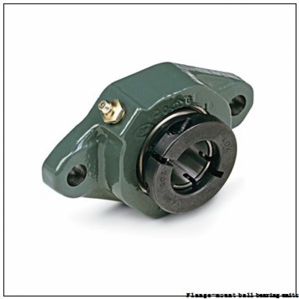 1.4375 in x 3.6250 in x 4.7500 in  Dodge F4BSC107 Flange-Mount Ball Bearing Units #3 image